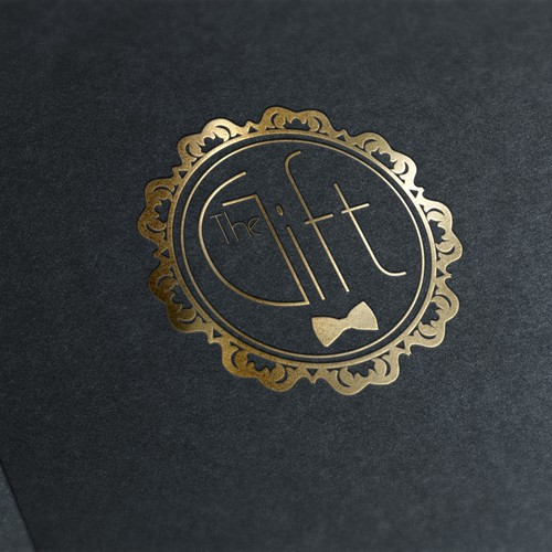 """Logo for Pre-rolled joints """"The Gift"""""""