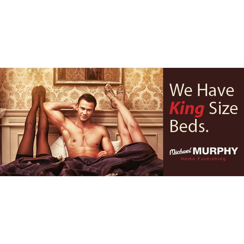 Create the next banner ad for Michael Murphy