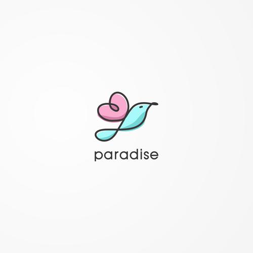 Logo for paradise