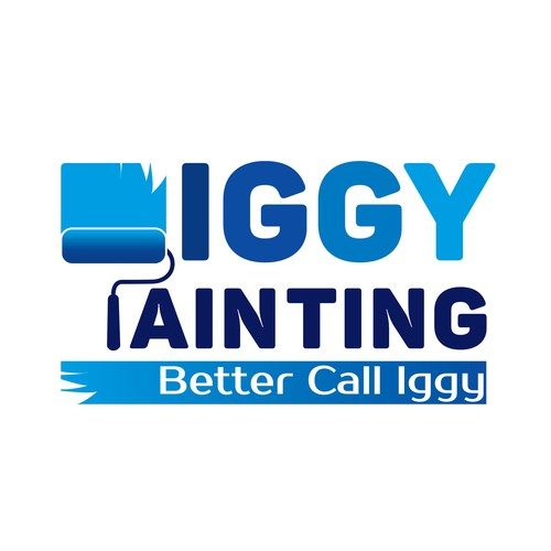Logo for paint services