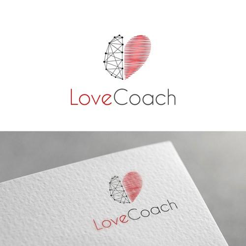Logo concept for a Love Coach