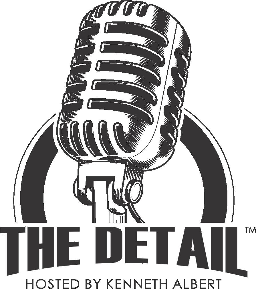 The detail podcast logo