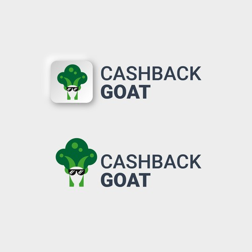 Logo concept for Cashback Goat