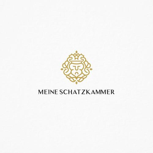 Logo concept for Meine Schatzkamer