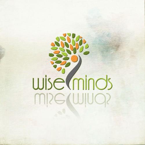 Wise Minds logo design