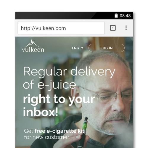 Vulkeen Mobile Web
