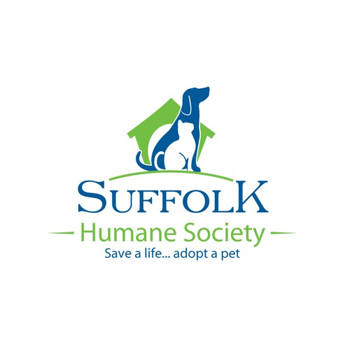 "Humane society has an ""inhumane"" logo ... bark, I mean barf!"