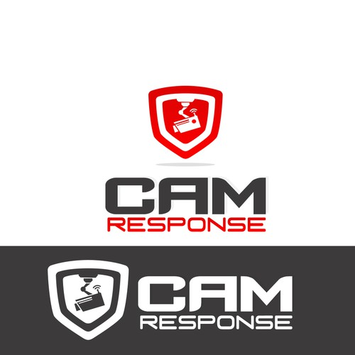Create a camera and monitoring logo for camresponse.com