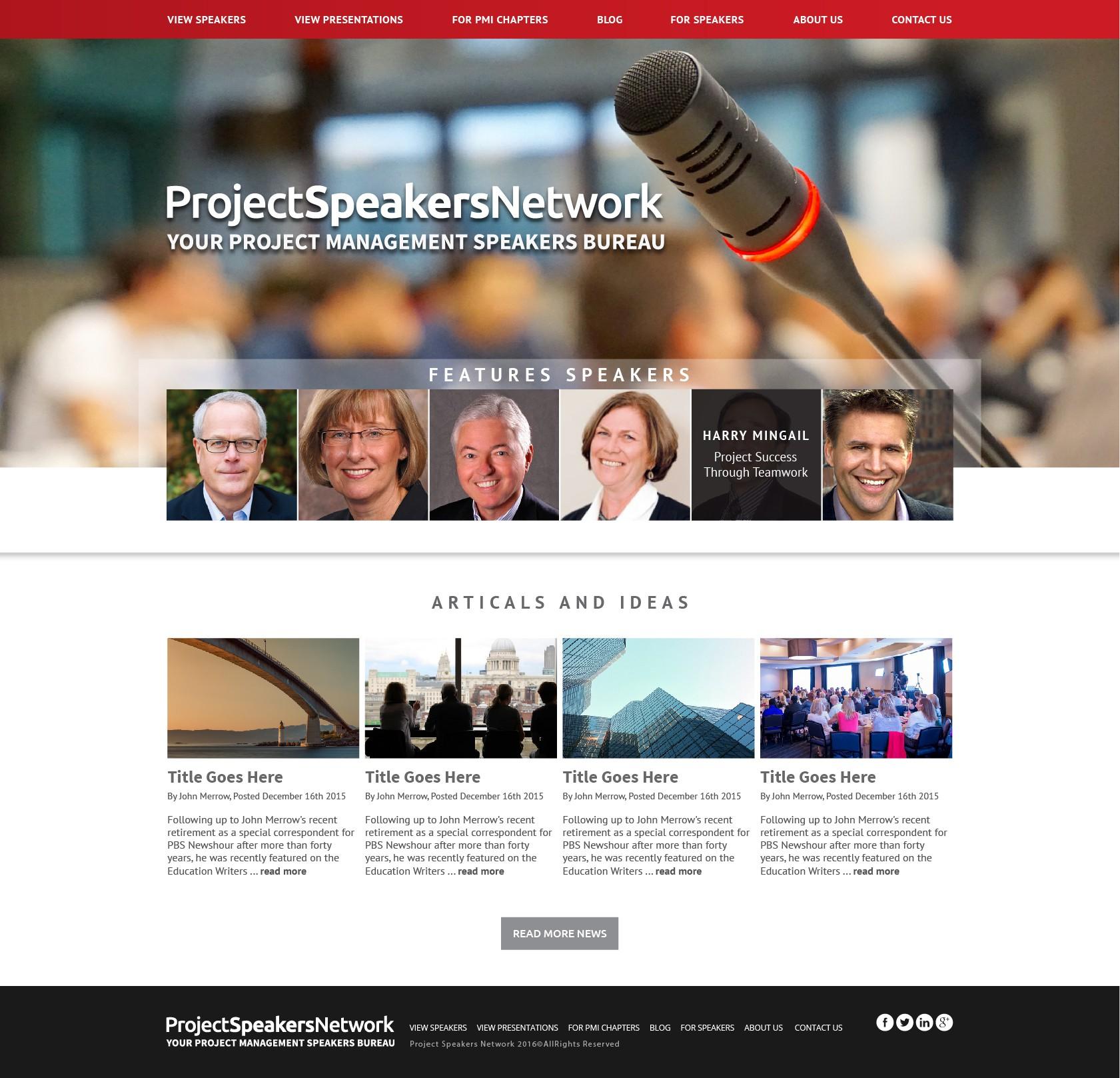 ProjectSpeakersNetwork