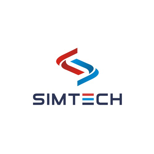 SimTech logo design