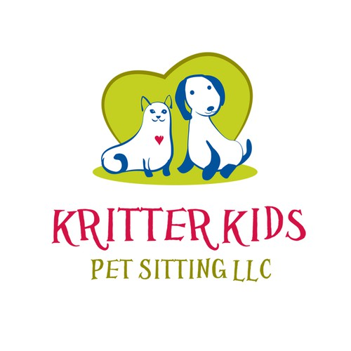 Help Kritter Kids Pet Sitting LLC with a new logo