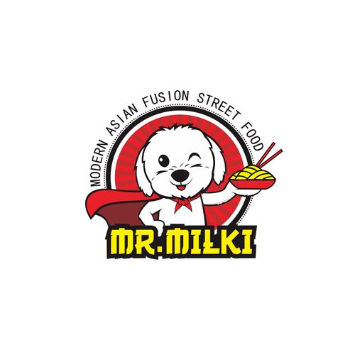 Logo concept for Mr Milki