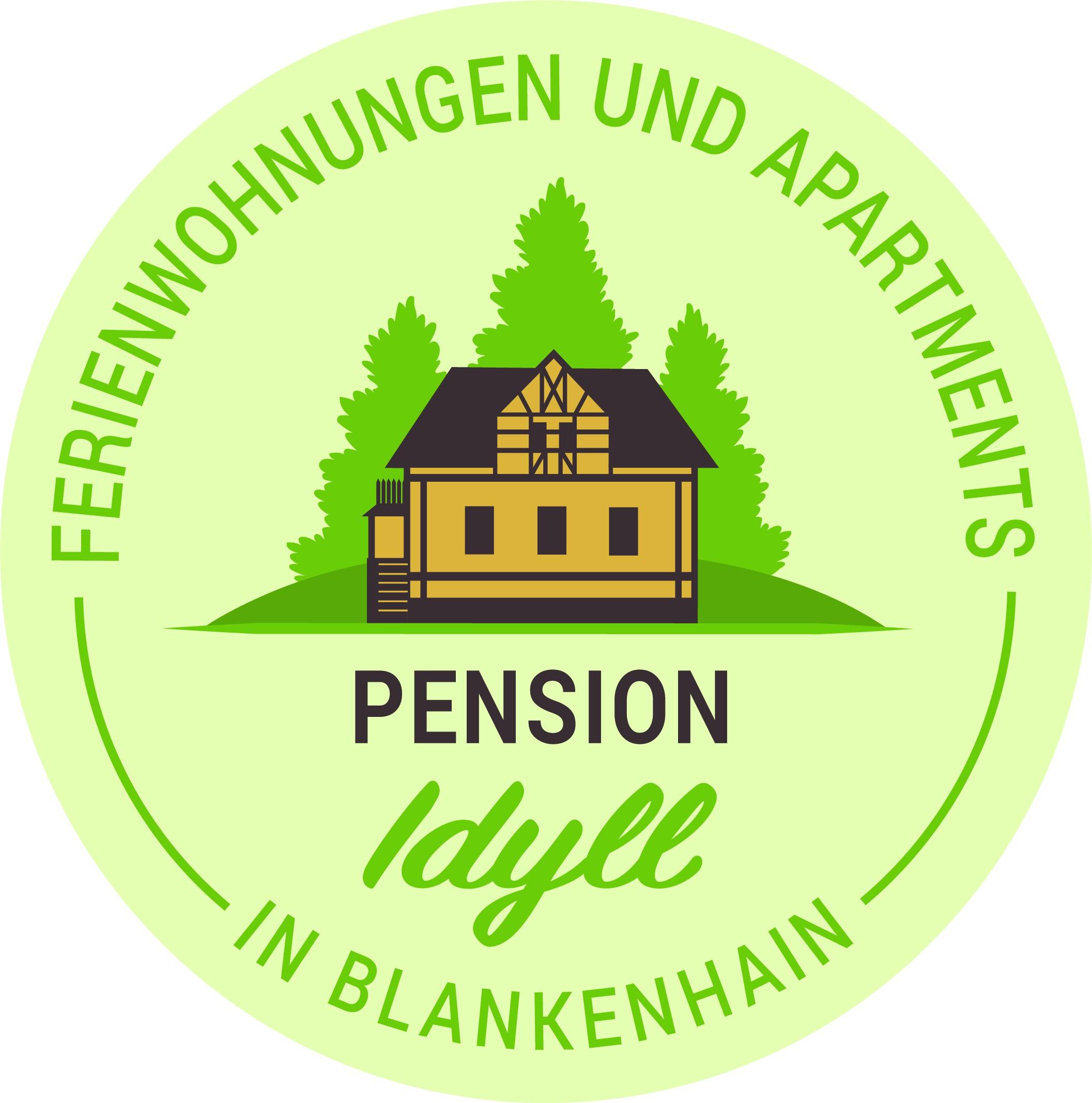 Erstelle ein Logo für die Pension Idyll