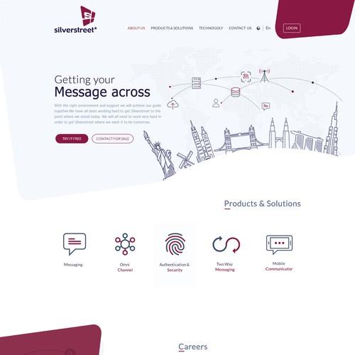 Modern Landing Page