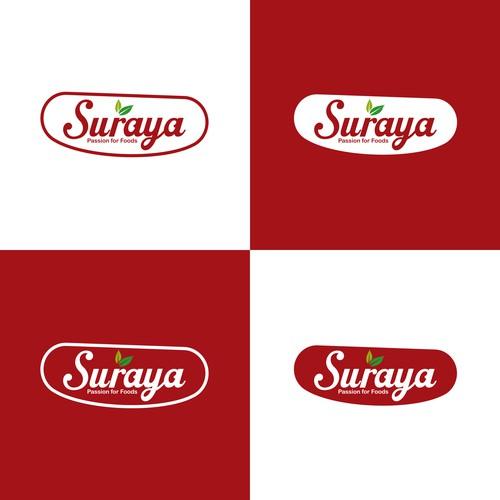 Suraya Logo Design