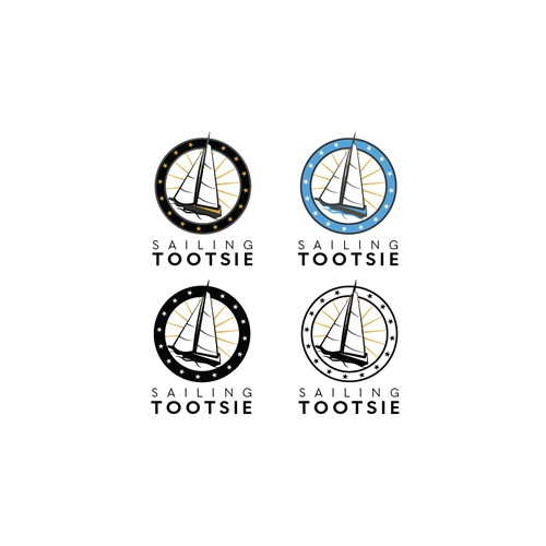 Logo for sailing trip around the world