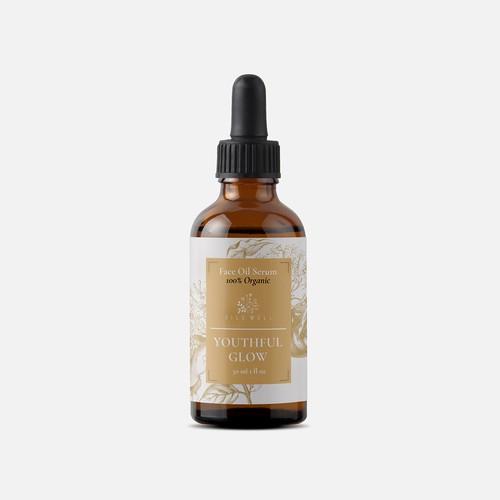 Label Organic Face Oil Serum