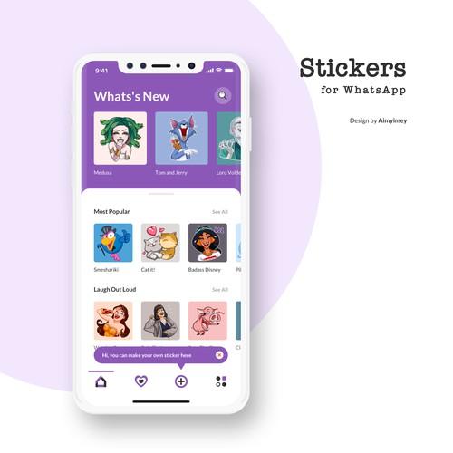 Stickers App