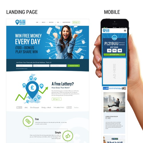 Custom Creative Responsive Web Design