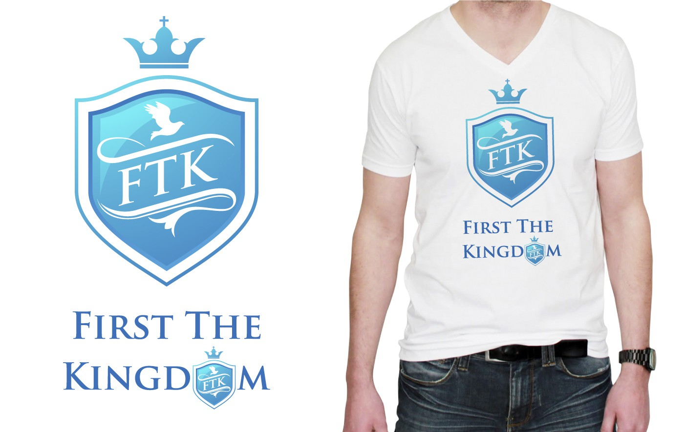 Help First The Kingdom with a new logo