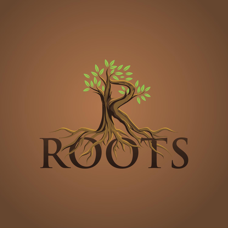 R Roots Logo Design