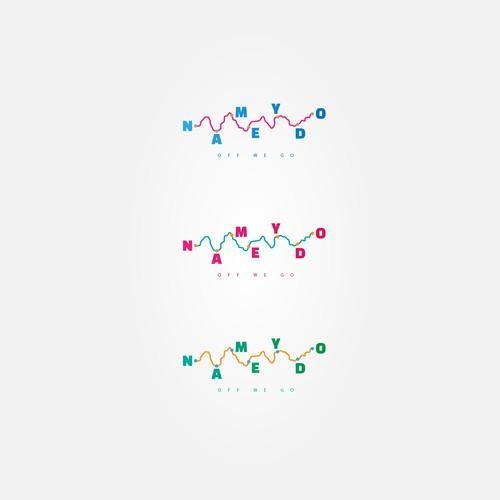 Conceptual logo for a backpacking/traveling Platform