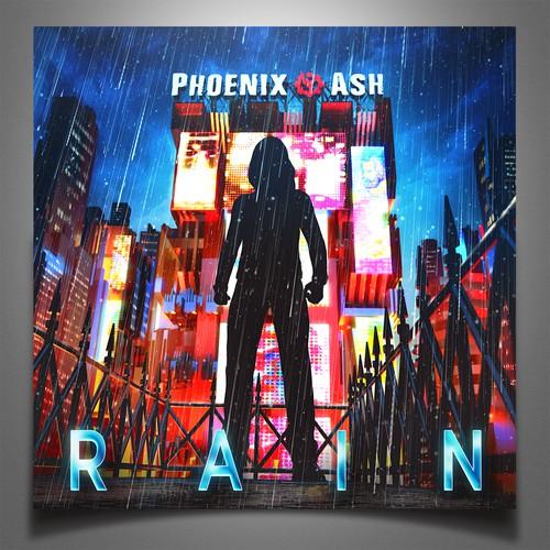 RAIN  'Japanese rock song album cover'