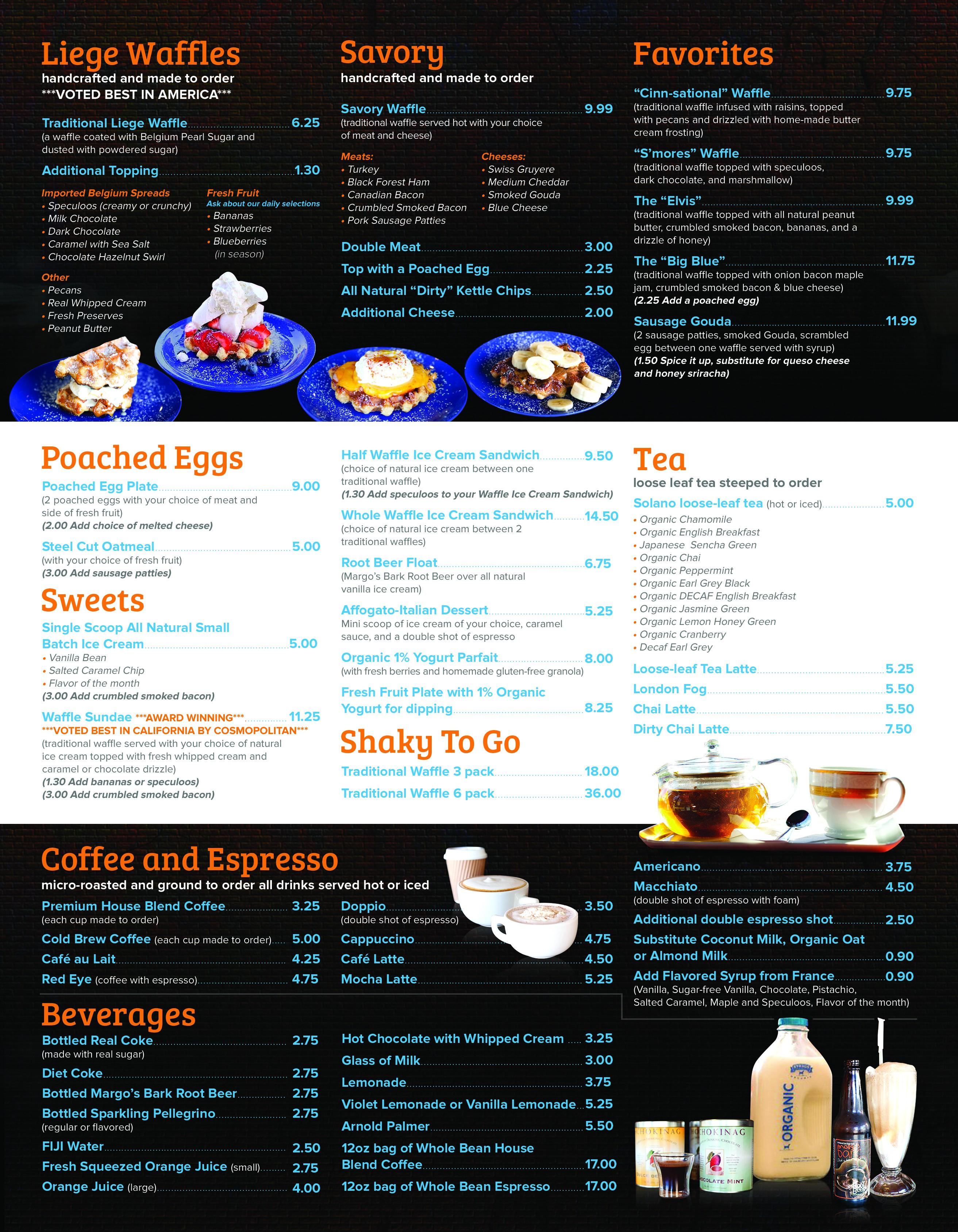 Update the previous menu