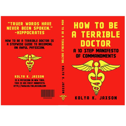 Physician book cover in communist style !