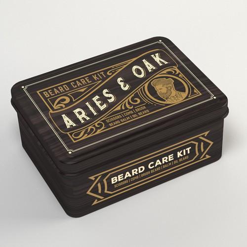 Vintage design for packing