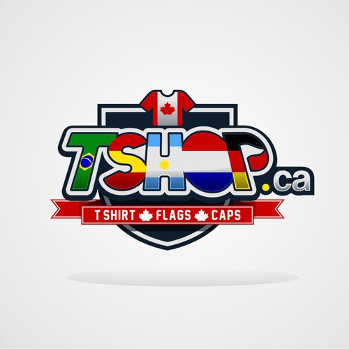 TSHOP.CA - World Cup T-Shirts Fan Store Logo