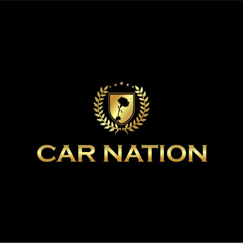 Logo concept for luxury car dealer