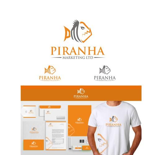 Piranha Marketing logos