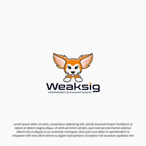 design mascot symbol of waeksig