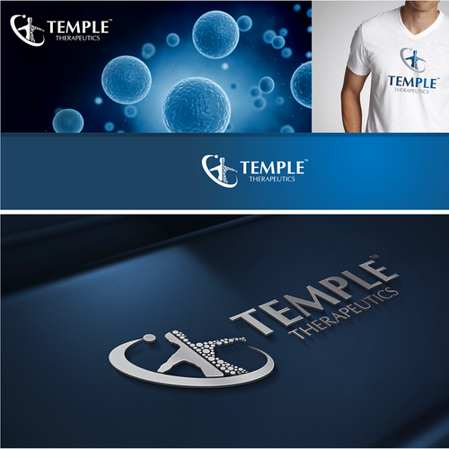 Create a logo for an European biotech which is ready to set a new standard of healing