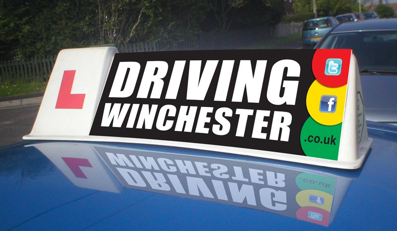Create the next business or advertising for drivingwinchester