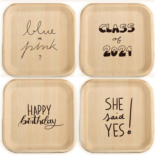 Plate Designs for Celebrations