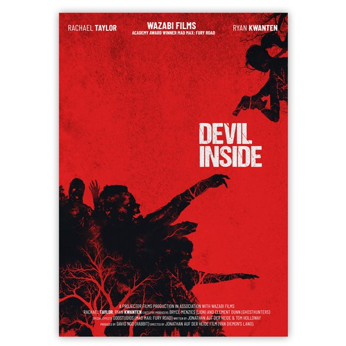 """Devil Inside"" Movie Poster"