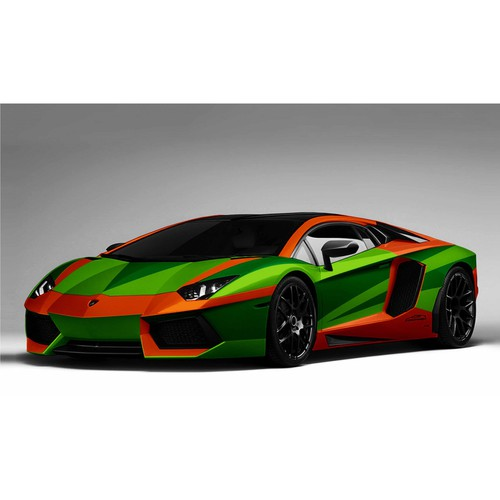 Wild Wrap Design for Lamborghini Aventador
