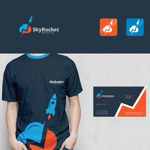 logo for Skyrocket Marketing