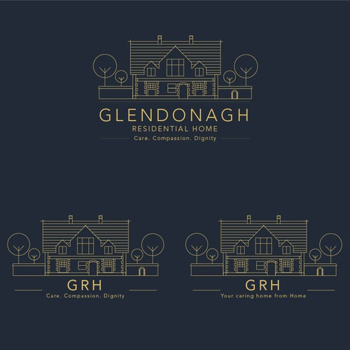 Logo for a Residential Home