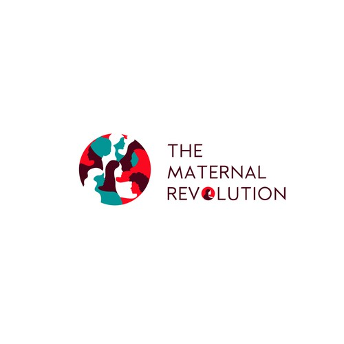 Powerful Logo for a Maternal Social Change nonprofit.