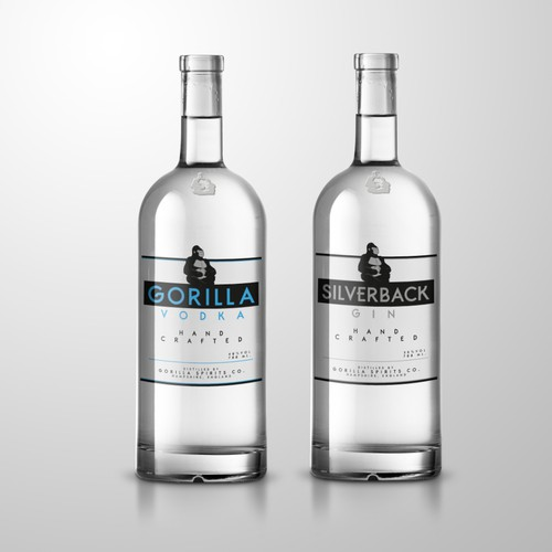 Label Design for a Vodka Brand