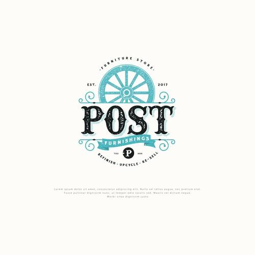 Logo Design for Post Furnishings