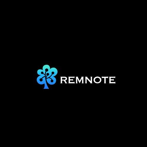 Remnote logo design