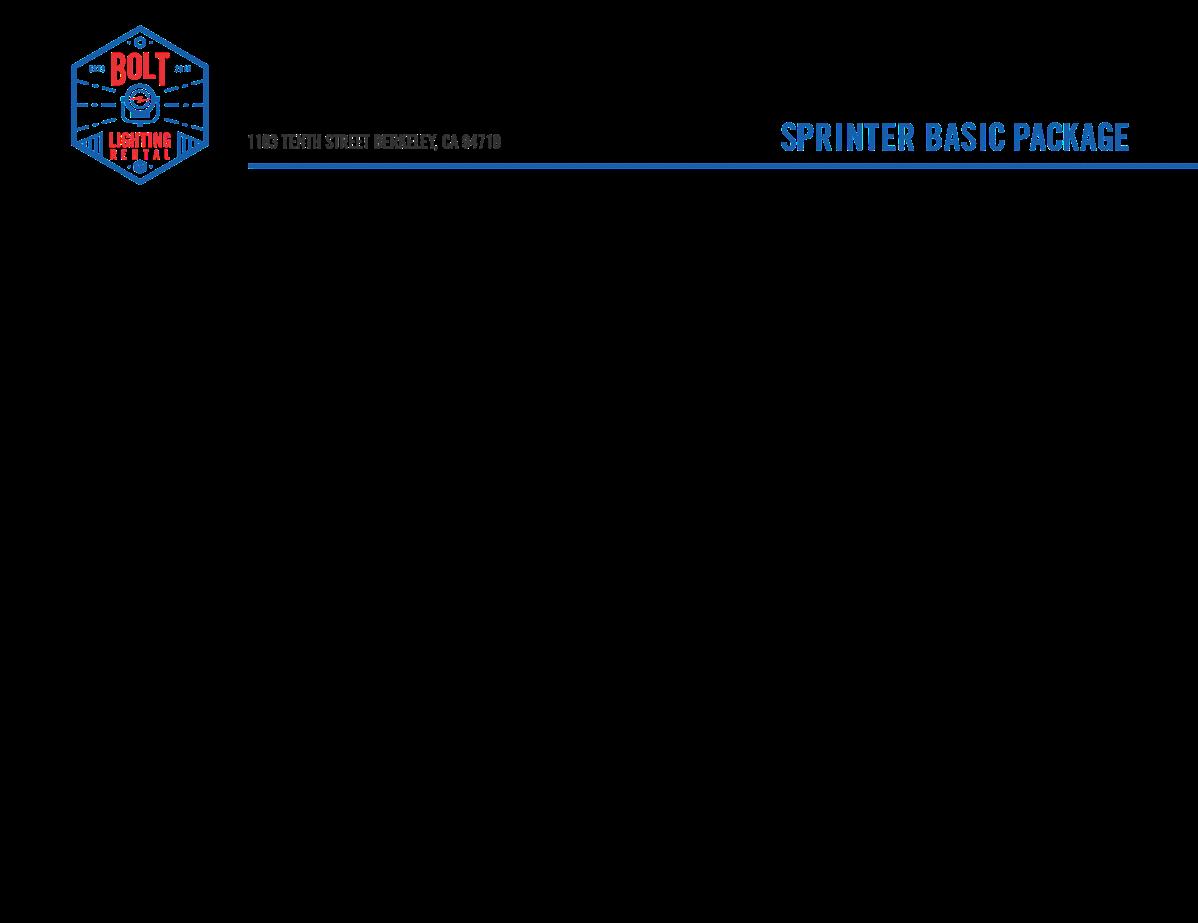 Basic package branding