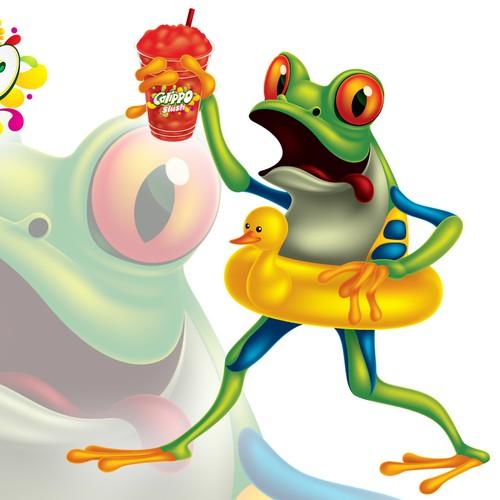 Calippo Slush Mascot