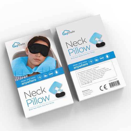 exclusive Box design for neck pillow set