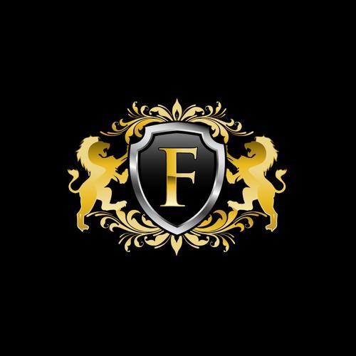 Bold logo for shield