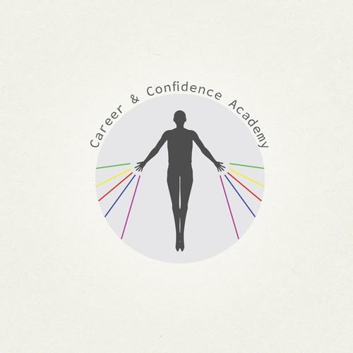 logo design for confident academy